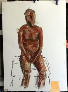 Life Drawing Seated Figure