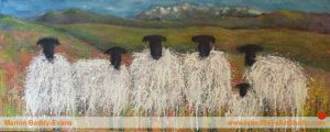 What Time is Breakfast? painting by Skye artist Marion Boddy-Evans