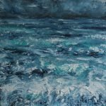 Minch Seascape: Storm Warning by Skye artist Marion Boddy-Evans