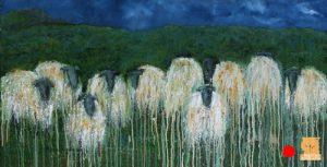 Wool Storr painting