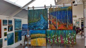 Paintings in Skyeworks
