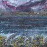 SOLD Minch Storm Warning painting