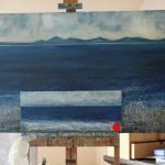Painting seascape Isle of Skye artist Marion Boddy-Evans