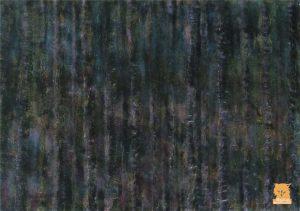 Perylene green forest painting