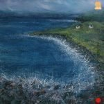 Two Croft Houses painting Isle of Skye