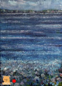 Across Uig Bay painting