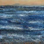Western Glow Minch painting by Marion Boddy-Evans Skye