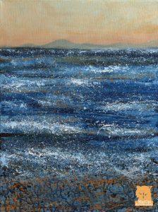 Western Glow Minch painting by Marion Boddy-Evans Skye