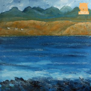 Skye Line painting
