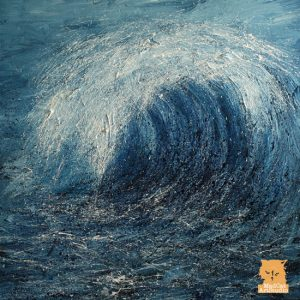Wave IV painting by Marion Boddy-Evans