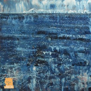 Minch Snow Showers painting