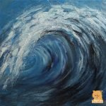 Wave II painting by Marion Boddy-Evans