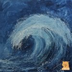 Wave III painting by Marion Boddy-Evans
