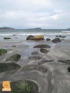 Rocks on Staffin Beach, Isle of Skye