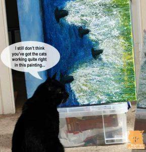 Mad Cat Art Studio in Scotland