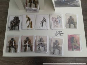 Life drawings by Isle of Skye Artist Marion Boddy-Evans