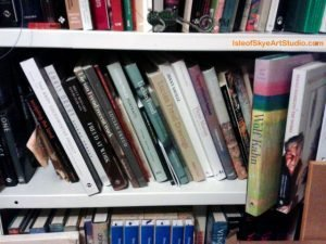 Art Book Shelfie