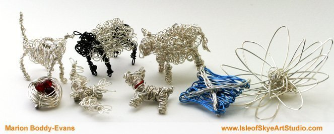 Wirework by Marion Boddy-Evans