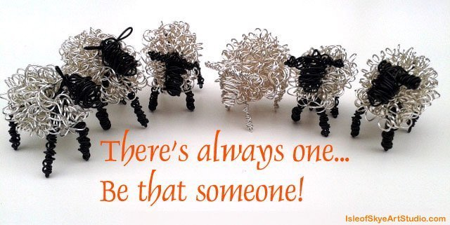 Wire sheep herd