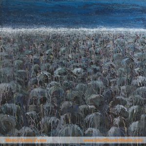 Edges: Beachhead Painting by Skye artist Marion Boddy-Evans