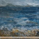 Edge of the Cuillin Painting by Skye artist Marion Boddy-Evans