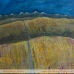 Edges: Road Less TravelledPainting by Skye artist Marion Boddy-Evans