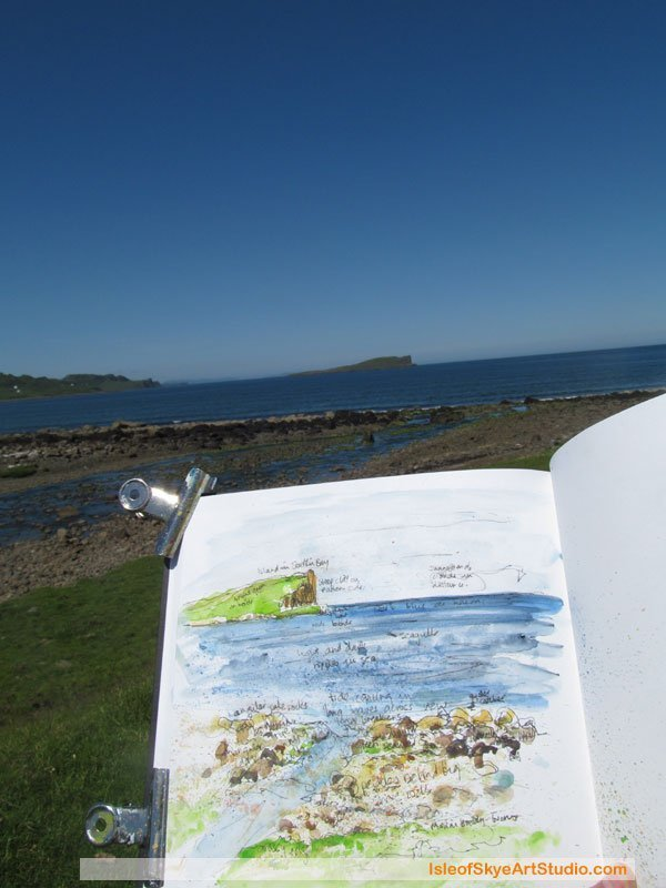 Skye  Sketching: Staffin
