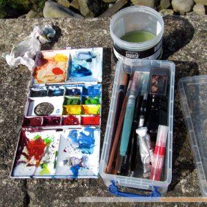 Sketching art supplies
