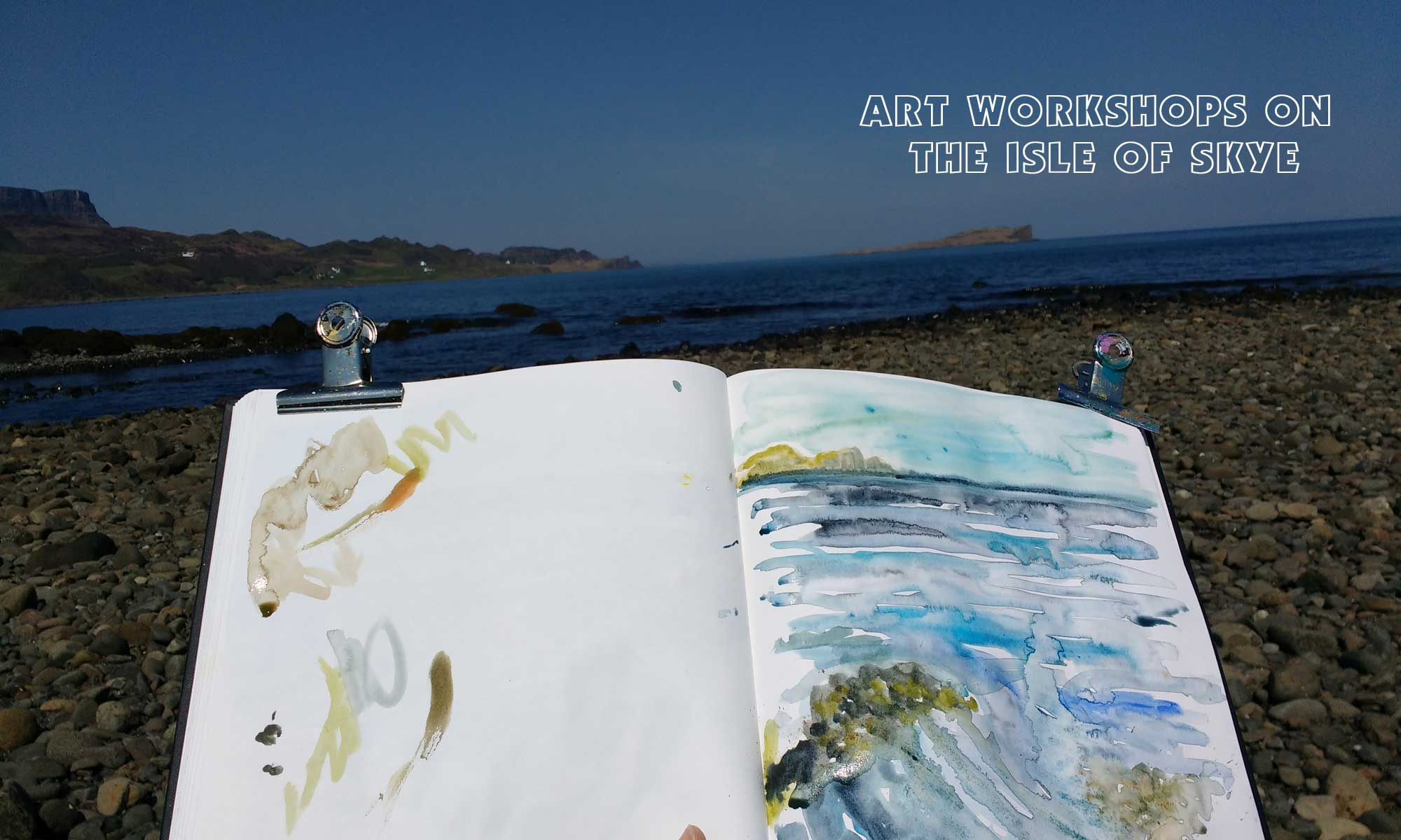 Art Workshops on the Isle of Skye