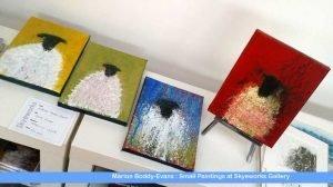 Small Paintings at Skyeworks Gallery Isle of Skye