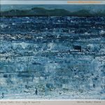 Minch Study, from Skye to Harris I, by Skye-based Artist Marion Boddy-Evans