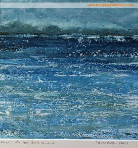 Minch Study, from Skye to Harris III, by Scottish Artist Marion Boddy-Evans