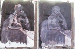 Workshop Day 2: Tonal Figure Painting with Acrylic-two-acrylic-tonal