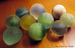 Marbles Found in Sea at Gardenstown