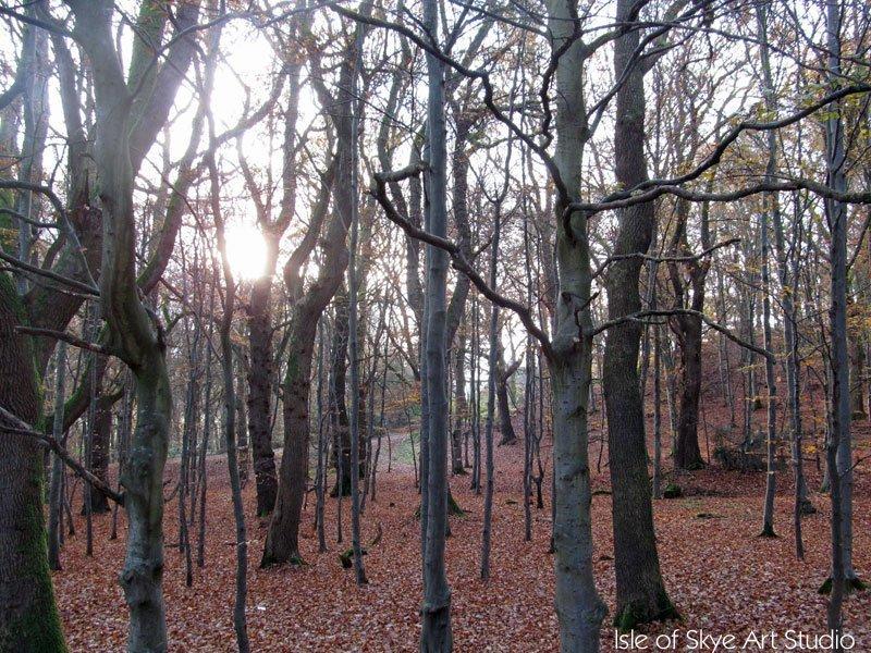 Not Klimt's Woodland