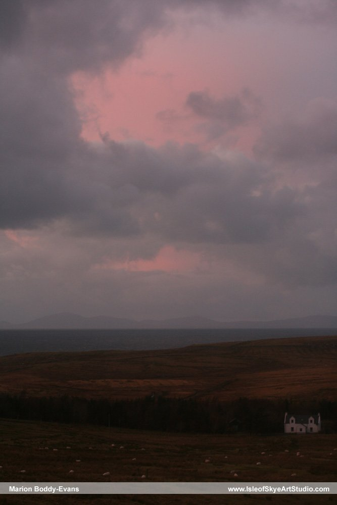 Skye Sunset 3 January 2015 #1
