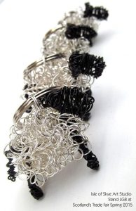 Wirework Sheep Keyrings