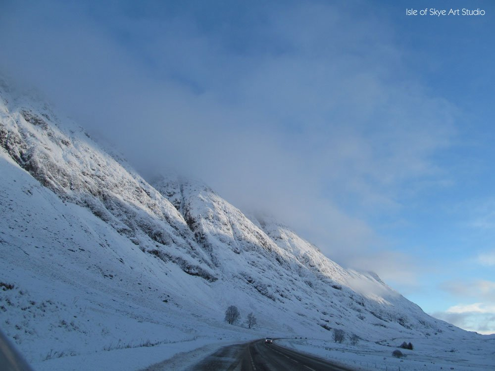 Snow at Glencoe