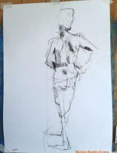 5 minute figure gesture drawing