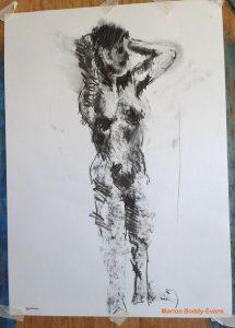10 minute gesture life drawing