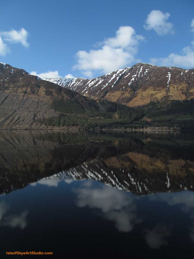 Reflections Loch Lochy 1