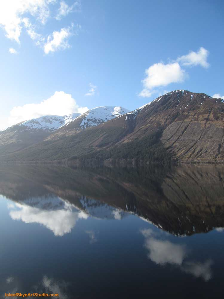Reflections Loch Lochy 2