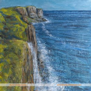 Kilt Rock Painting