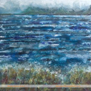 Rough Crossing painting inspired by Elgol Skye