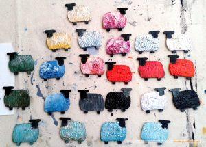 Work in Progress: Painting sheep