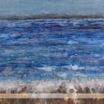Ebb & Flow sea painting by Skye Scotland artist Marion Boddy-Evans