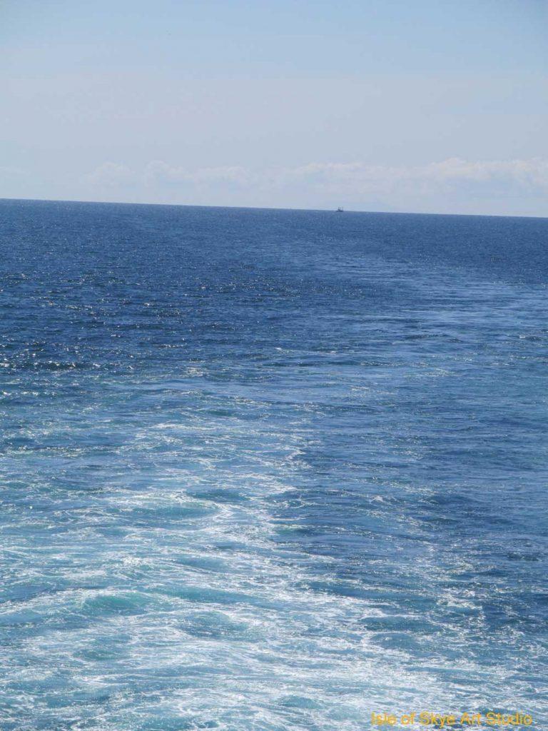 Uig to Stornoway Ferry Trip: