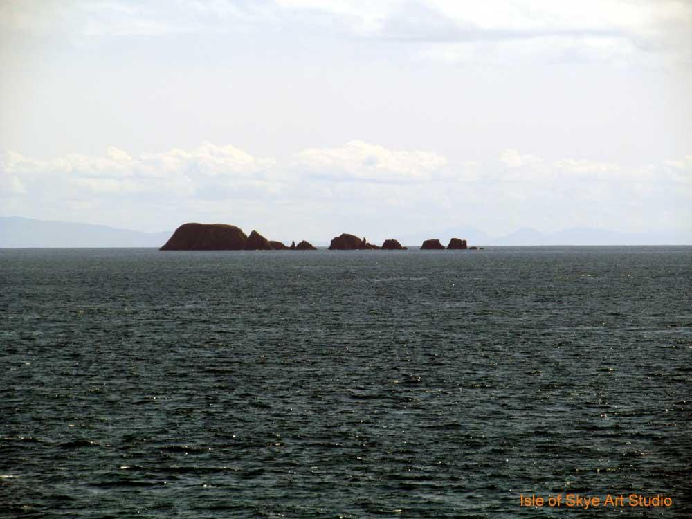 Uig to Stornoway Ferry Trip: Sea Monster