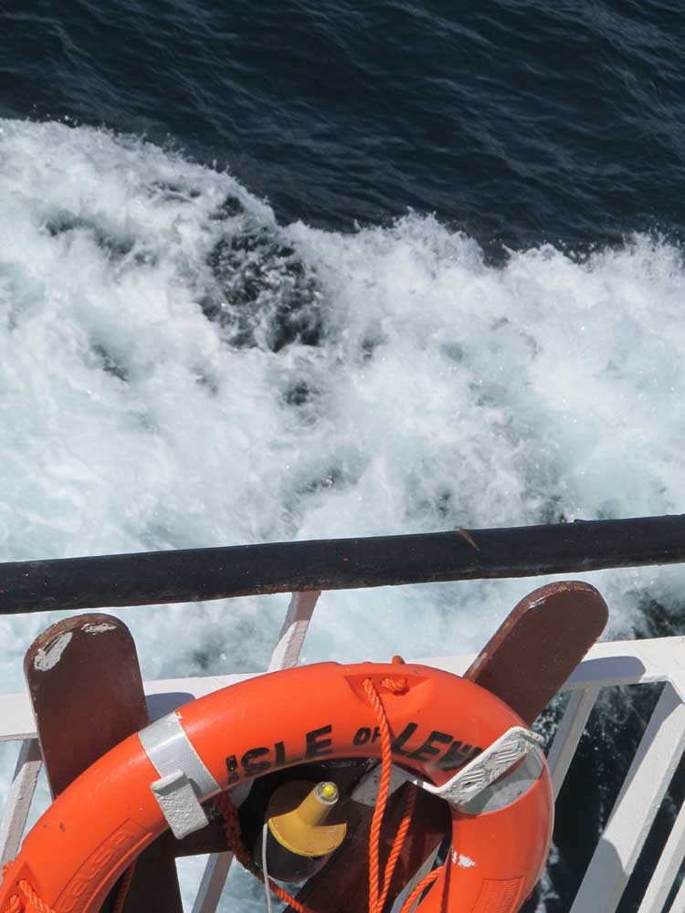 Uig to Stornoway Ferry Trip: Isle of Lewis
