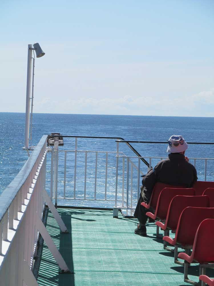 Uig to Stornoway Ferry Trip: Calm Sea